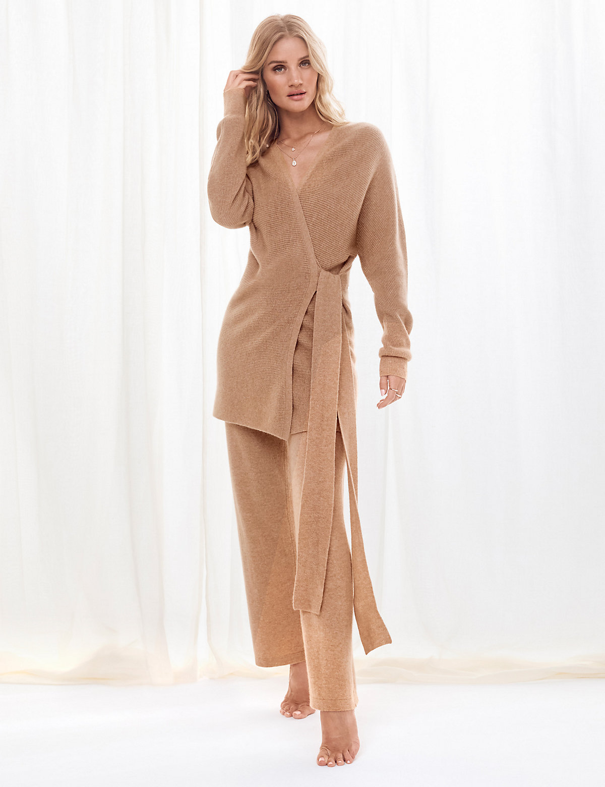 Rosie for Autograph Cashmere Short Dressing Gown