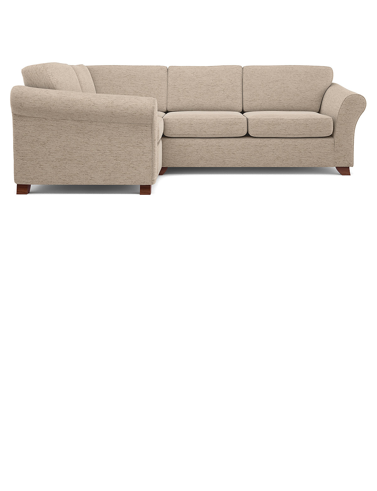 Image of Abbey Firm Small Corner Sofa (Left-Hand)