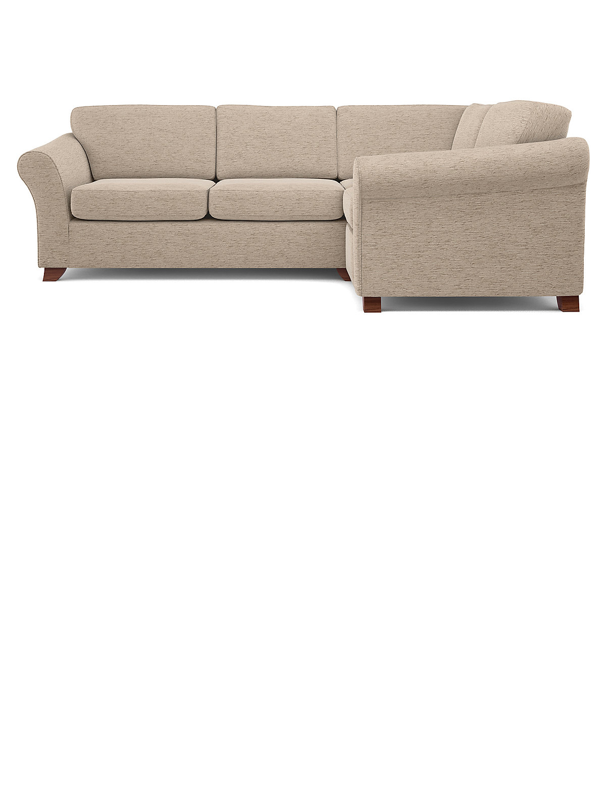 Image of Abbey Firm Small Corner Sofa (Right-Hand)