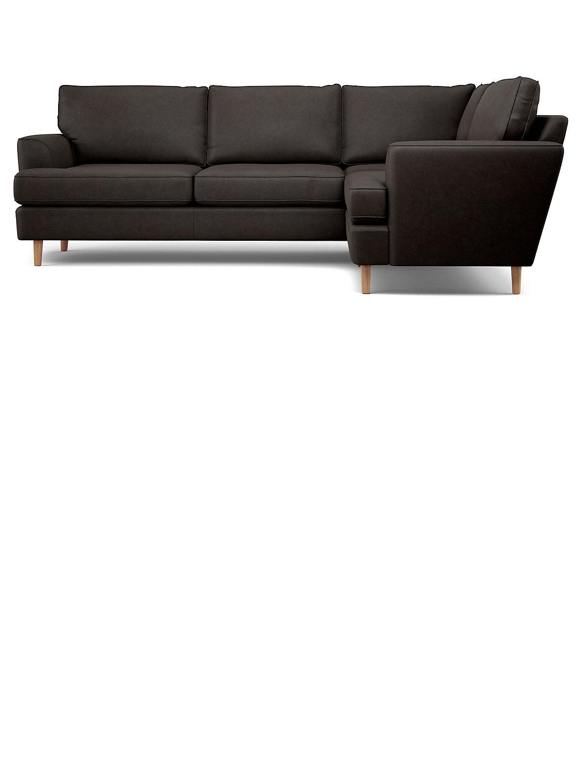 Pleasant Ms Black Copenhagen Small Corner Sofa Ix Css Creativecarmelina Interior Chair Design Creativecarmelinacom