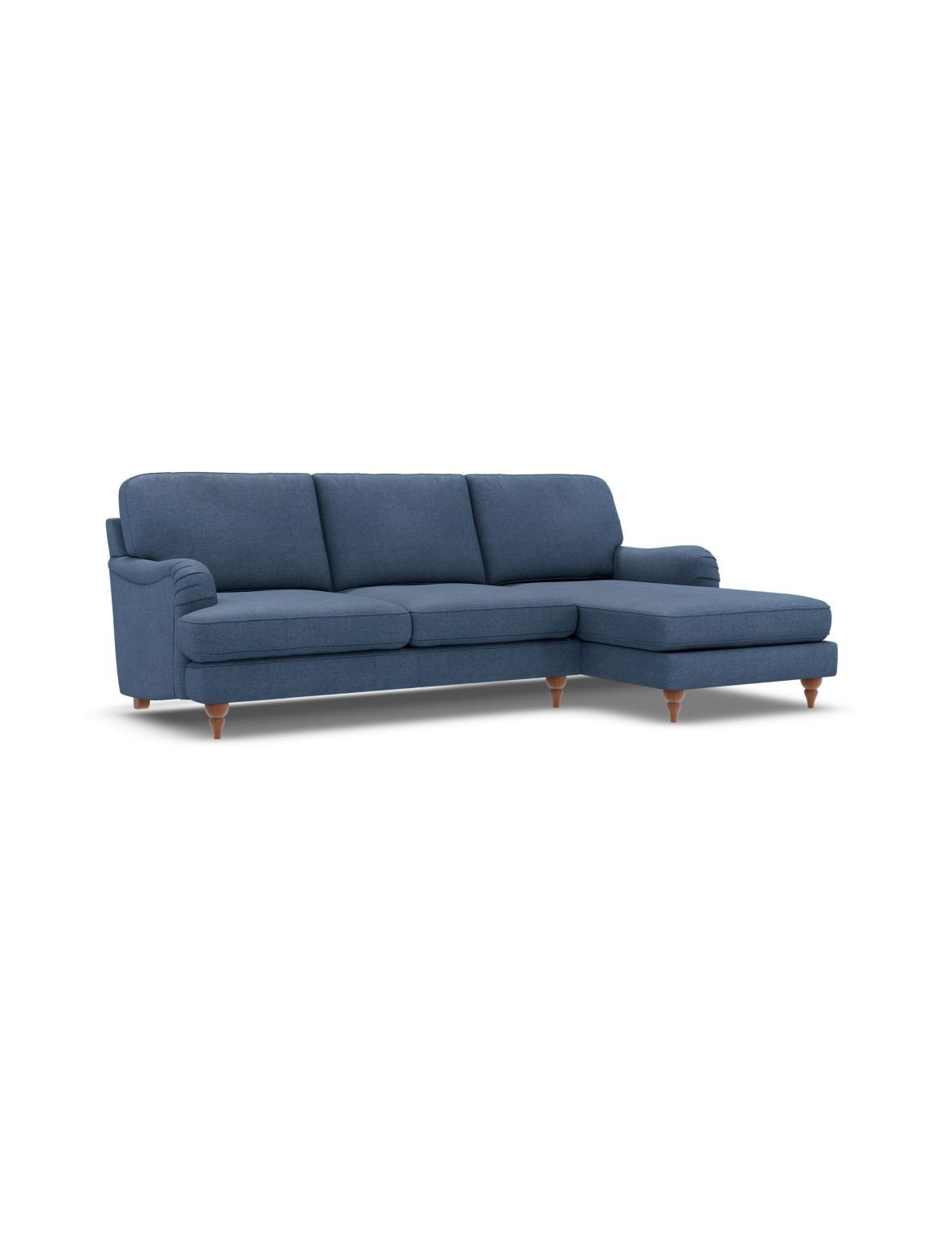 Rochester Corner Chaise Sofa (Right-Hand) Navy