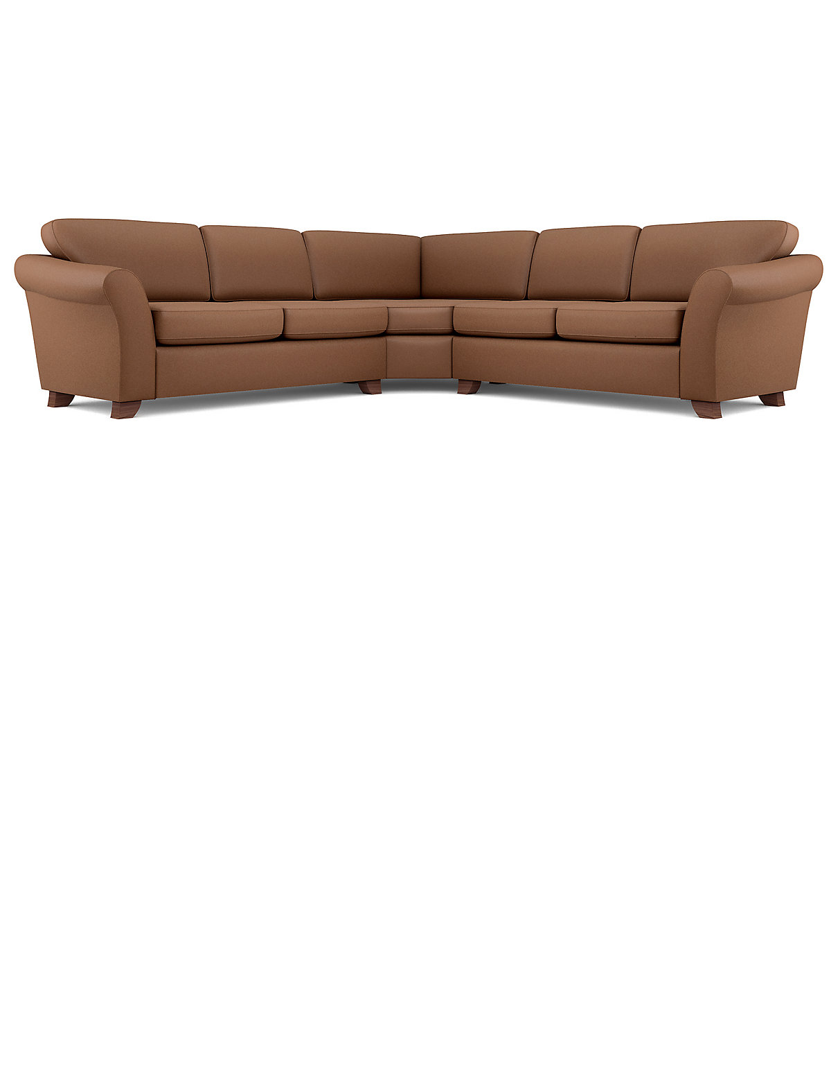 Image of Abbey Curved Corner Sofa