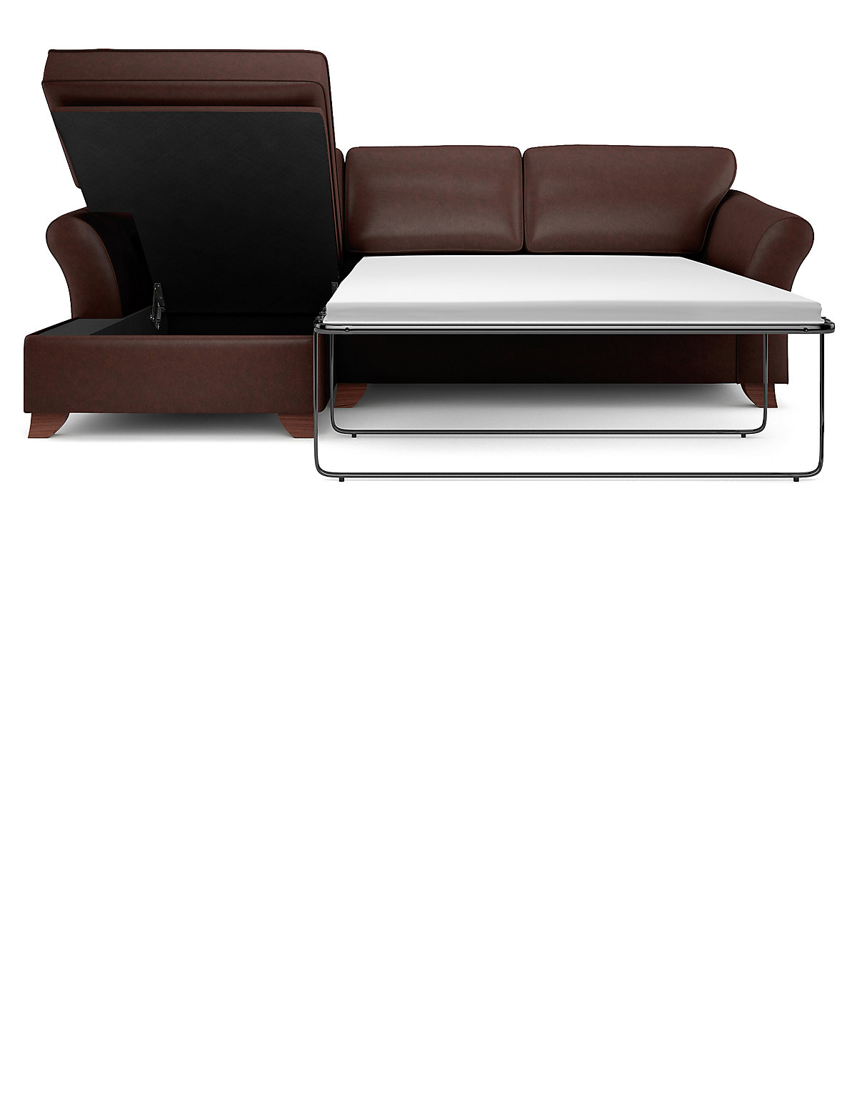 Image of Abbey Corner Chaise Storage Sofa Bed (Left-Hand)