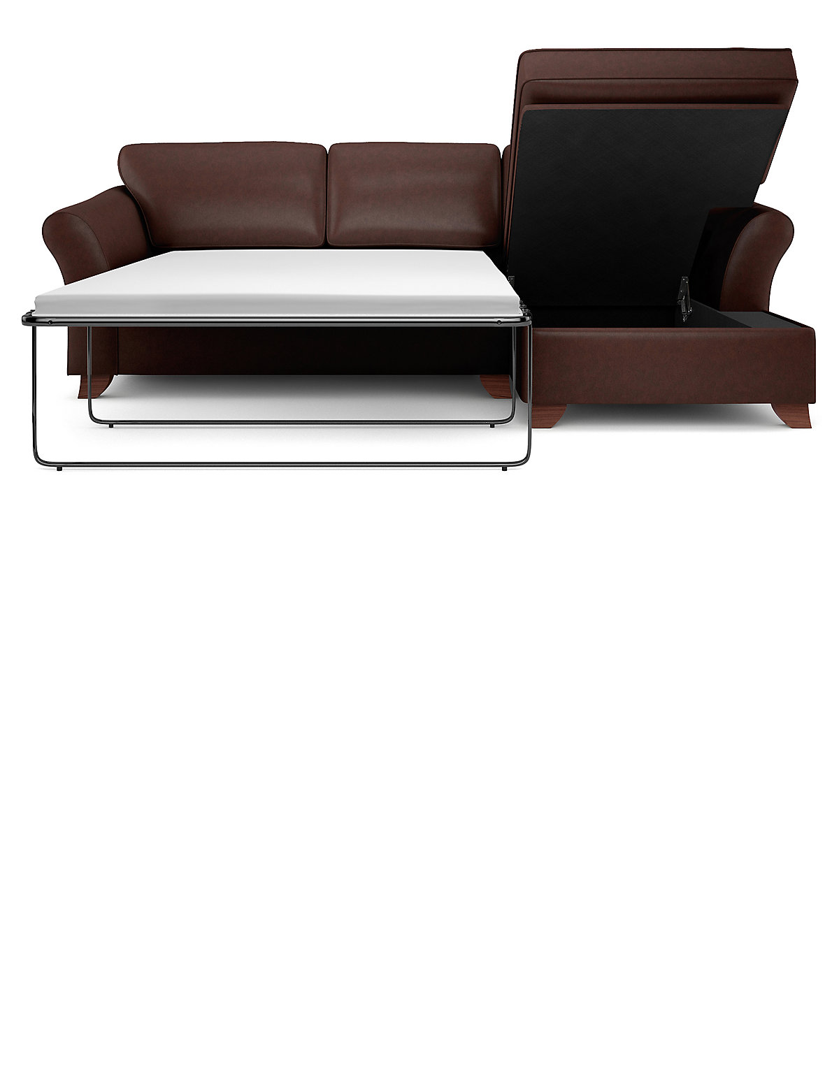 Image of Abbey Corner Chaise Storage Sofa Bed (Right-Hand)