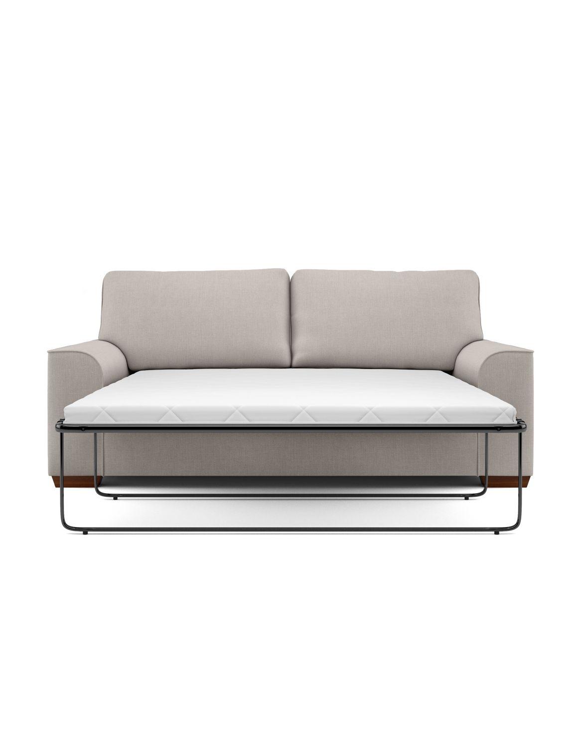 Nantucket Large Sofa Bed (Sprung Mattress) Beige