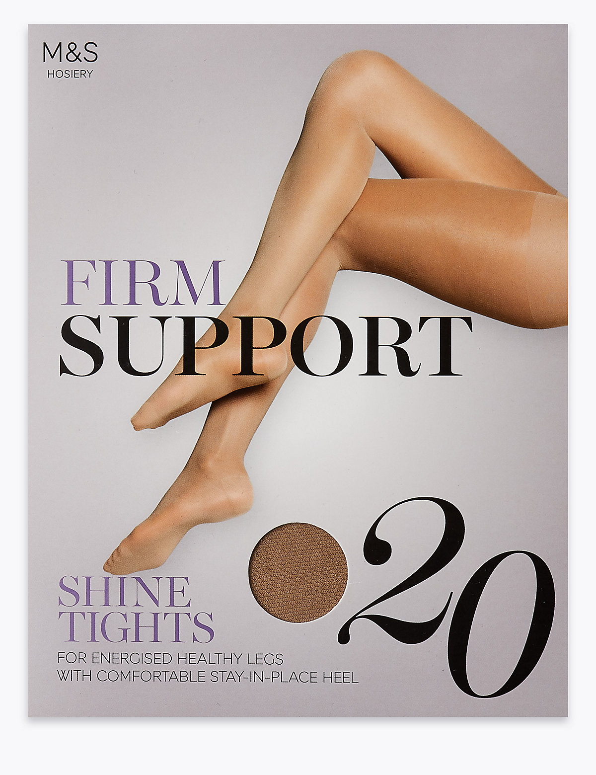 M&S Collection 20 Denier Firm Support Tights