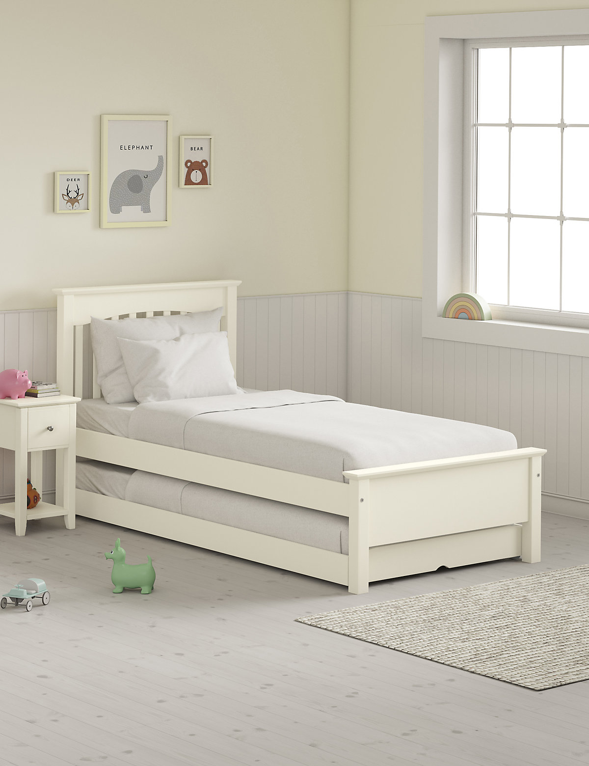Hastings Ivory Childrens Guest Bed