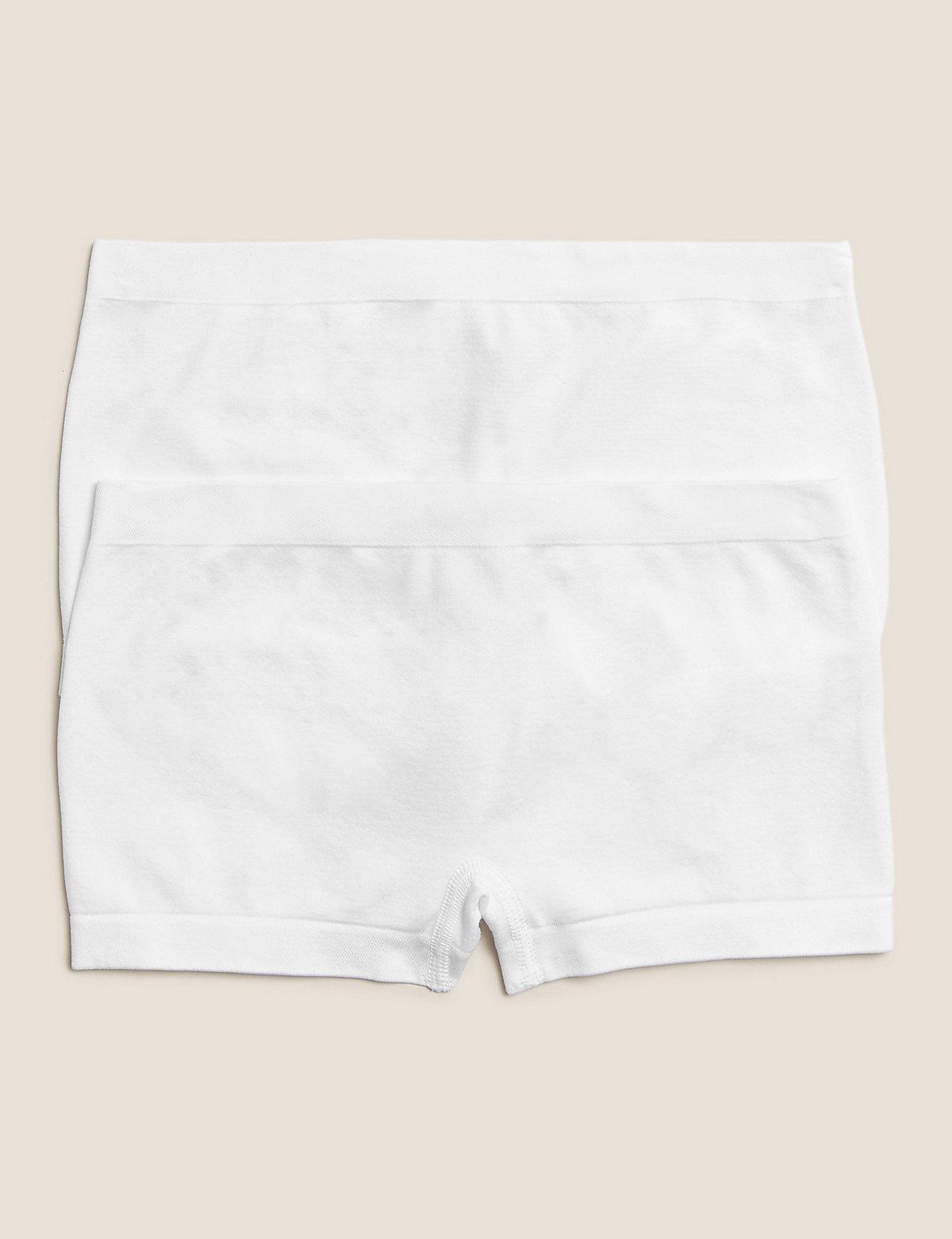 2 Pack Seamfree Shorts (6-16 Yrs)