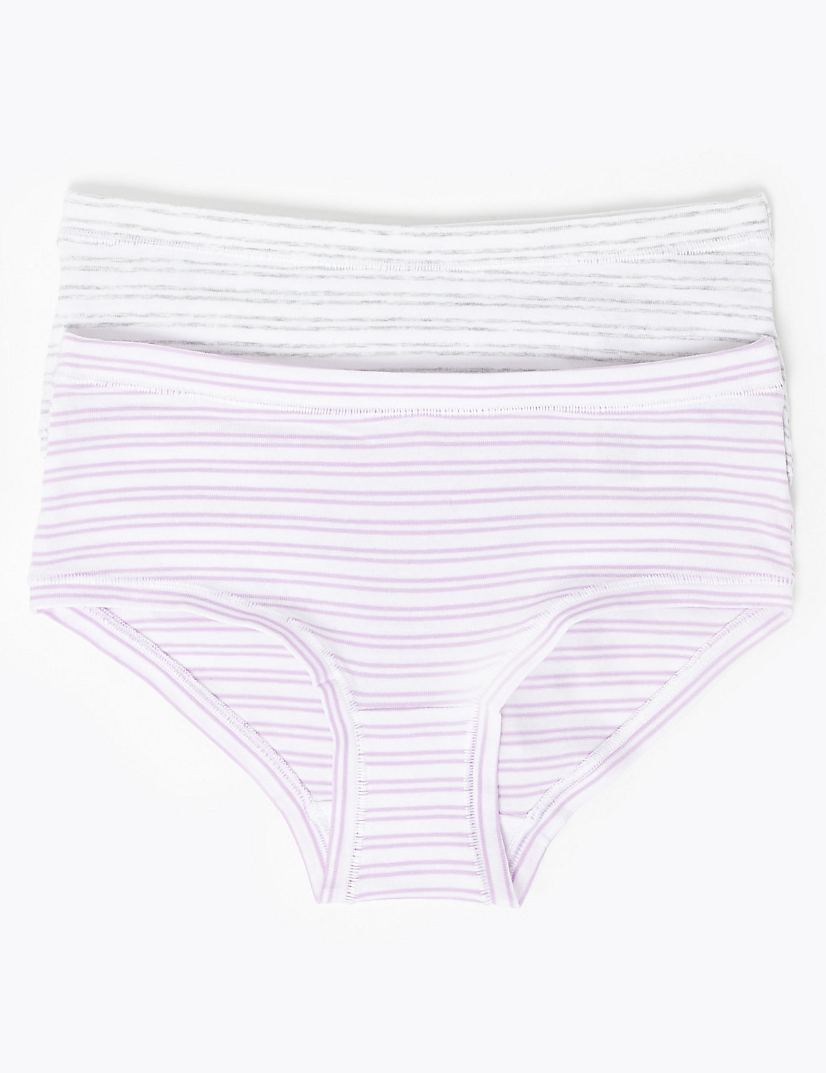2 Pack Flexifit Striped Shorts (6-16 Yrs)