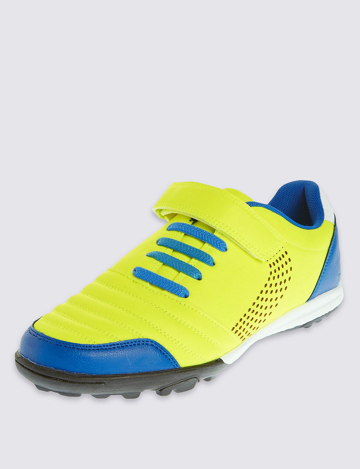 Kids Freshfeet Astro & Riptape Bright Trainers with Silver Technology