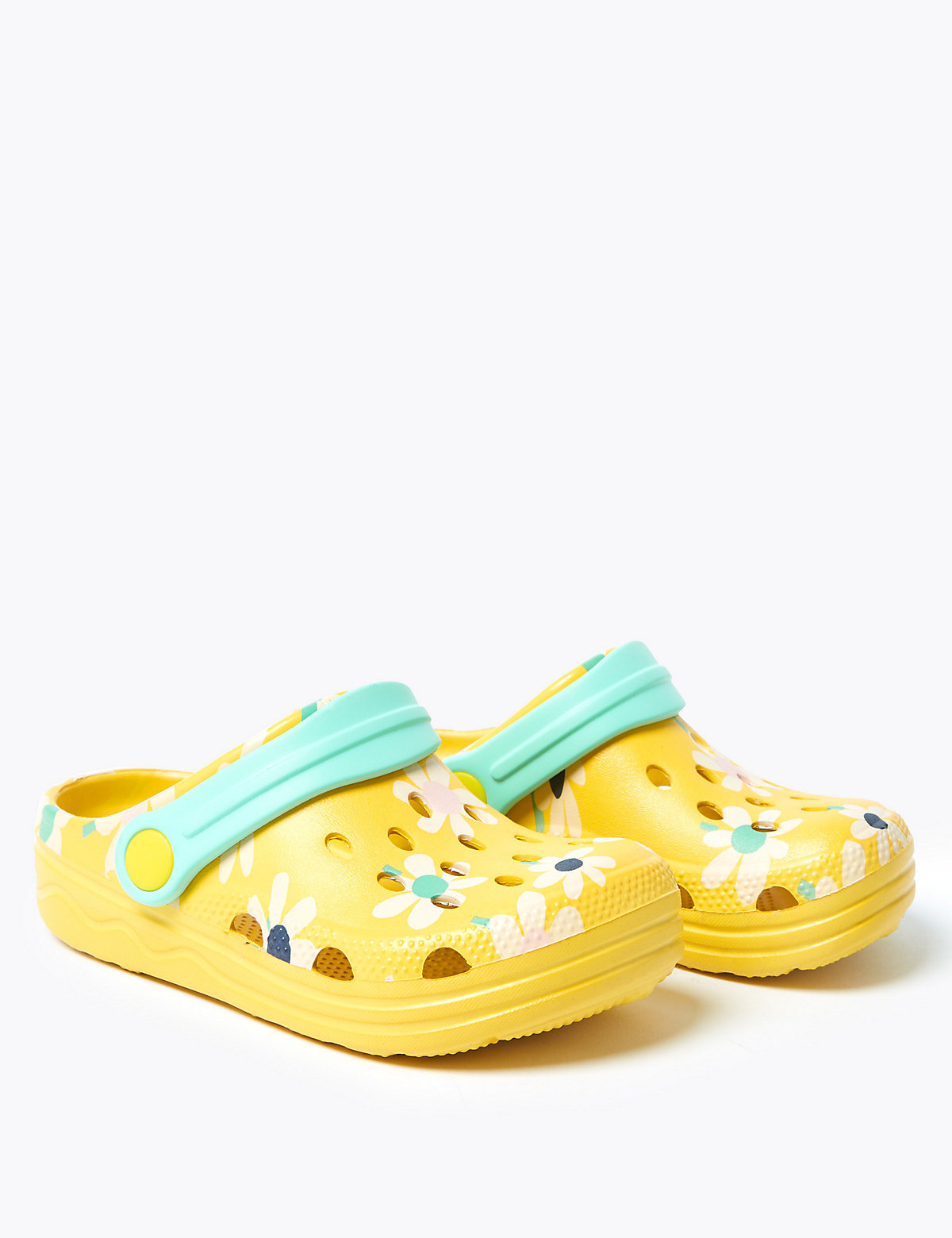 Kids' Floral Clogs (5 Small - 12 Small)