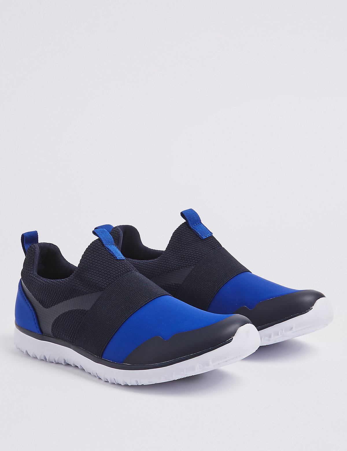 9f307818e776 Kids  Slip-on Trainers (13 Small - 7 Large) - Marks   Spencer at Westquay -  Shop Online