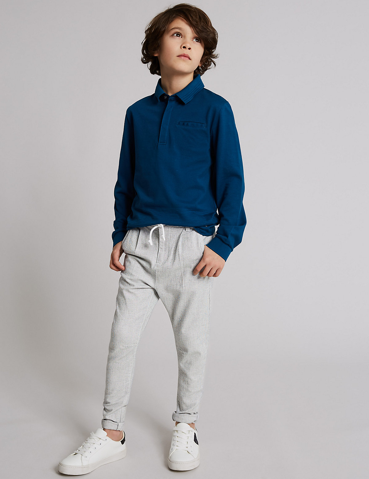 Autograph Cotton Sports Chinos with Stretch (3-16 Years)