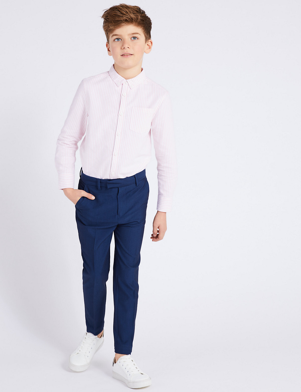 Blue Suit Trousers (2-16 Yrs)