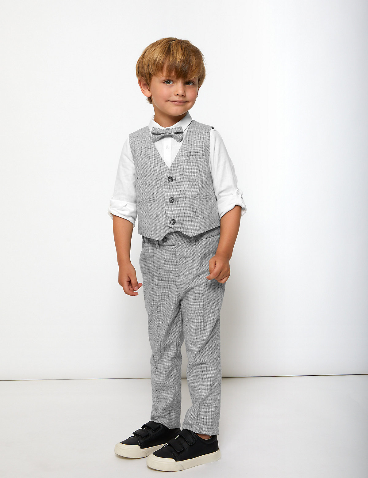 4 Piece Suit Outfit (2-7 Yrs)