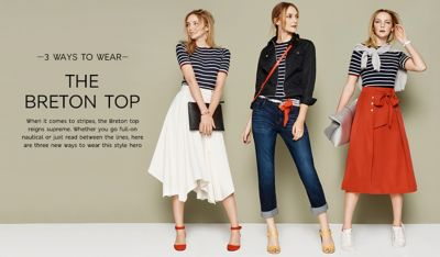 images 3 Ways To Rock A Breton Top For SS15