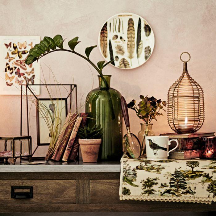 Botanical-inspired Interiors Ideas