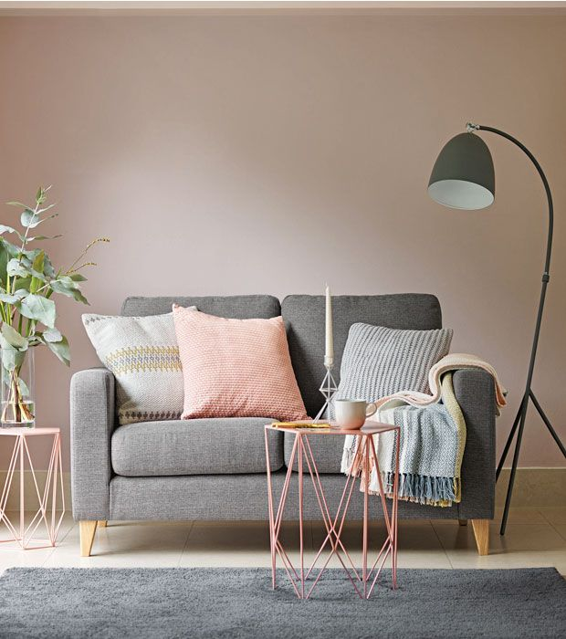 Home ideas with pink - Marks and spencer living room ideas ...