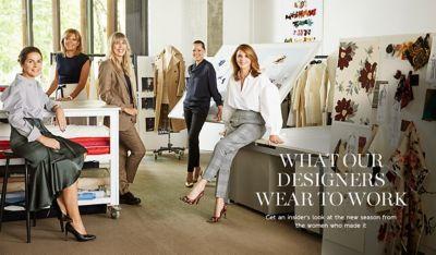 Fashion do what designers wear to work foto