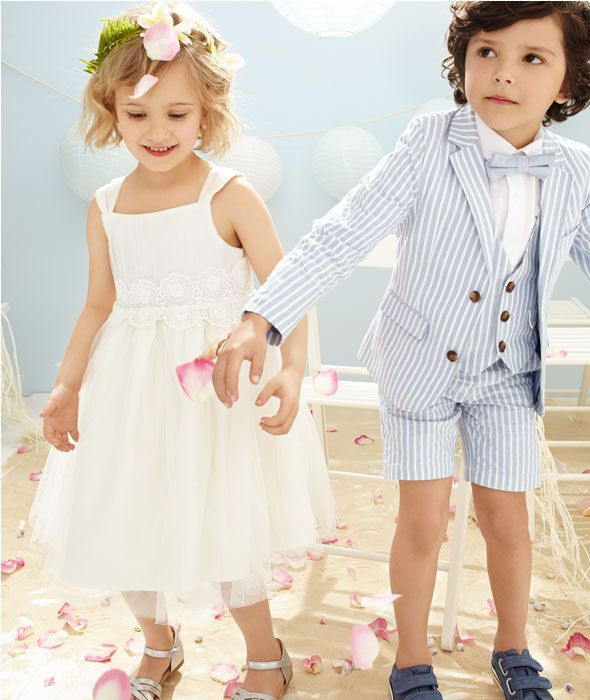Flower Girl Dresses Boys Wedding Outfits