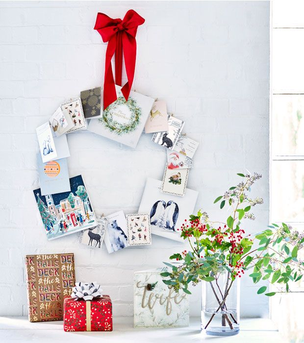 creative with christmas cards