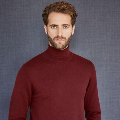 mens polar neck