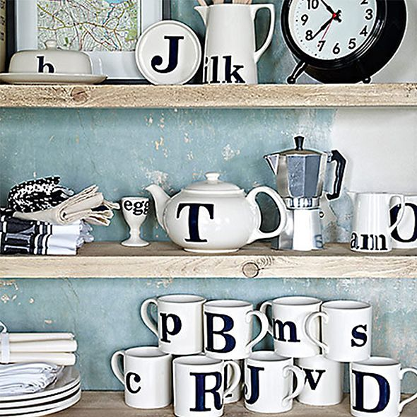 Shop letter mugs and more